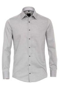 Venti Modern Fit Shirt - Grey-white