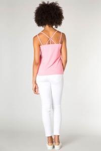 Yest Top - Yoshji taffy pink