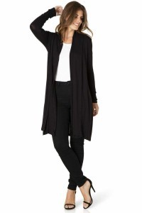 Yest cardigan - Yessica Long Black