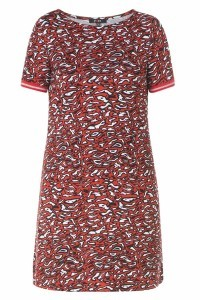 Yest Tunic - Indi red