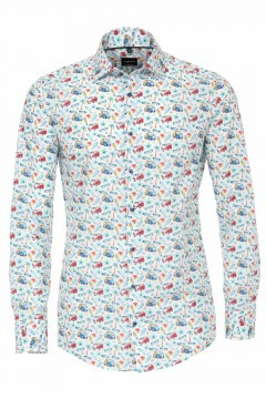 Venti Modern Fit Shirt - Surf Print