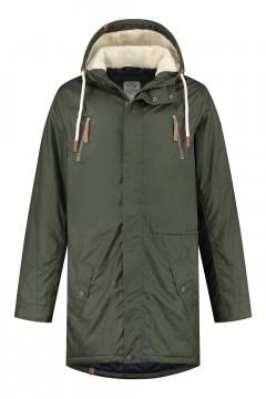 Brigg Winter Coat - Pete Dark Green