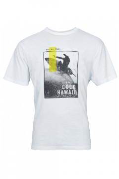 Replika Jeans T-Shirt - Cold Hawaii White
