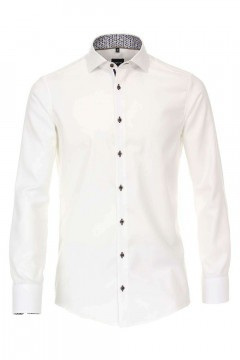 Venti Modern Fit Shirt - Hai White