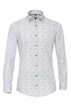 Venti Modern Fit Shirt - Dots Light