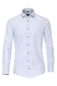 Venti Modern Fit Shirt - Hai Light Blue