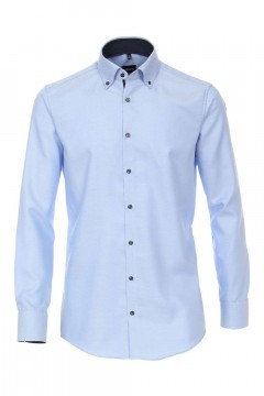 Venti Modern Fit Shirt - Sky Blue