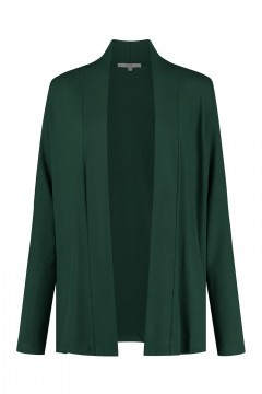Yest Cardigan - Yayla Short Dark Green