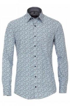 Casa Moda Casual Fit Shirt - Blue Specks