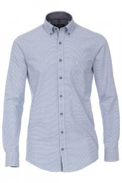 Casa Moda Casual Fit Shirt - Blue/checkered