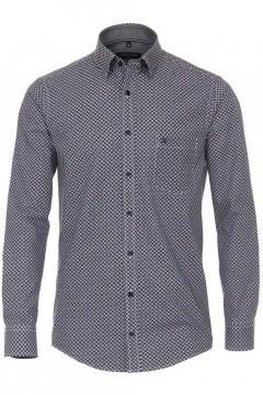Casa Moda Casual Fit Shirt - Navy/multicolor