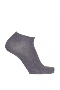 Bonnie Doon Ankle Sock - Grey
