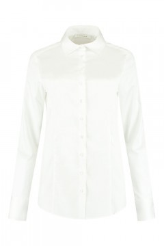 Eterna - Blouse Basic White