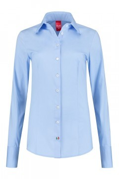Only M - Blouse Basic Light Blue