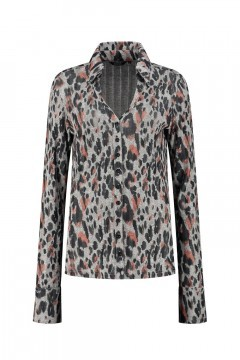 Chiarico - Blouse Liv Grey Animal