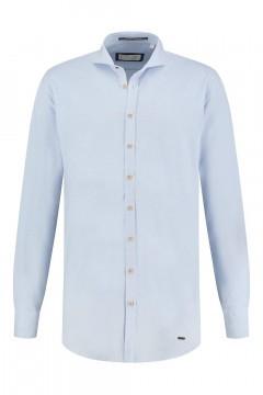 Blue Crane slim fit shirt - Light Blue