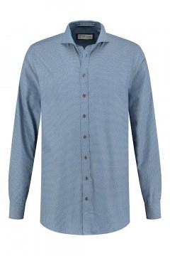 Blue Crane tailored fit shirt - Blue/patterned