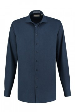 Blue Crane tailored fit shirt - Denim Navy