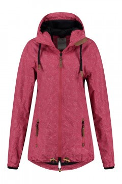 Brigg Outdoor Jacket - Pink speckled