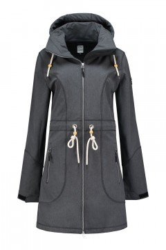 Brigg Softshell Jacket - Julia Anthracite