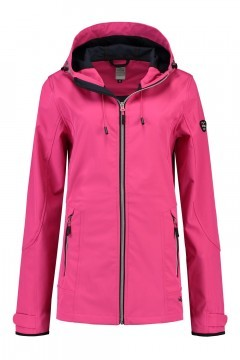 Brigg Softshell Jacket - Bright Pink