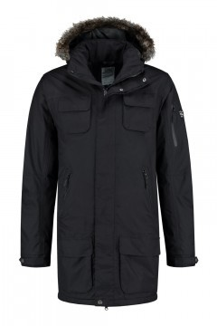 Brigg Functional Parka - Black