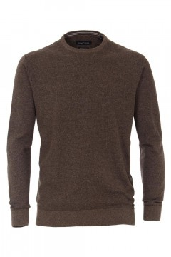Casa Moda Knit Pullover - Brown