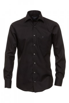 Casa Moda modern fit shirt - black