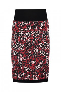 Chiarico - Skirt Coco Red Animal