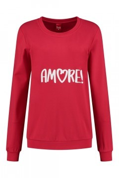 Only M - Sweater Amore red