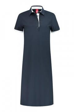 Only M - Dress Sporty Chic Polo navy