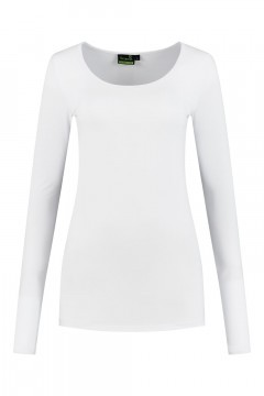 Sequoia - Basic top long sleeve white