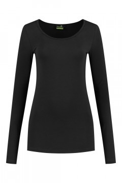 Sequoia - Basic top long sleeve black