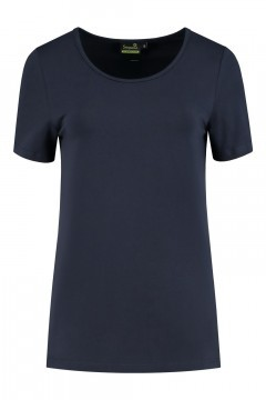 Sequoia - Basic top short sleeve navy