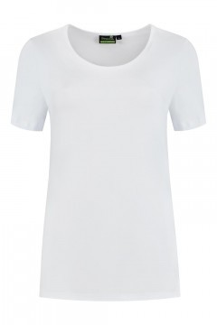 Sequoia - Basic top short sleeve white