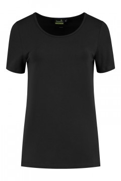 Sequoia - Basic top short sleeve black
