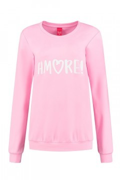 Only M - Sweater Amore pink