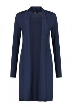 Yest cardigan - Yessica long Deep Blue
