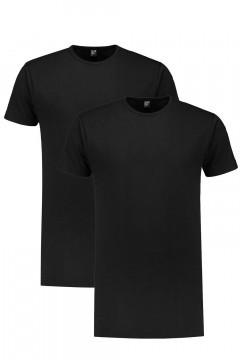 Alan Red Tall T-Shirt - Derby Black / 2-pack