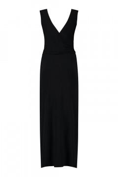 Only M - Wrap dress Snooze black