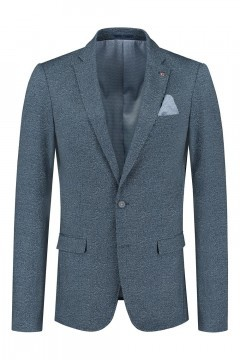 No Limit Blazer - Garret Indigo Speckle