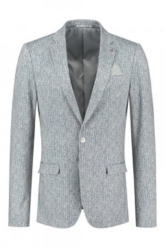No Limit Blazer - Garret Grey Melange
