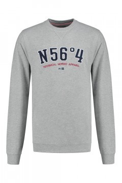 North 56˚4 Sweater - Nordic Apparel grey