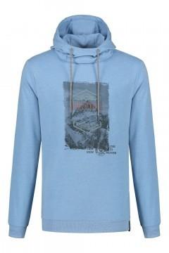 Kitaro Sweater - Adventure light blue
