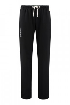 Panzeri Sweatpants Open Leg - Black