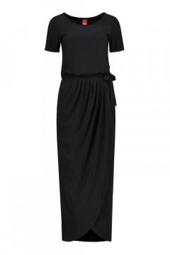 Only M Dress - Wrap dress black