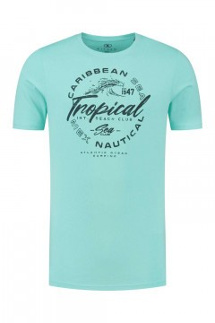 Kitaro T-Shirt - Tropical Aqua