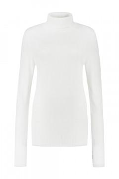 Casa Mia - Basic Turtleneck Sweater Off White