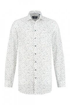 Ledûb Modern Fit Shirt - Cool Dots