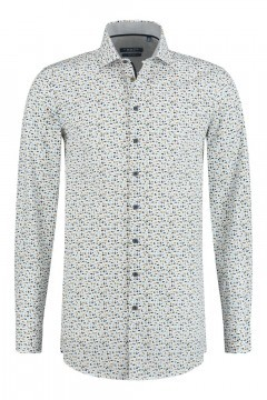 Ledûb Modern Fit Shirt - Multi Print
